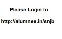 Please Login to http://alumnee.in/snjb