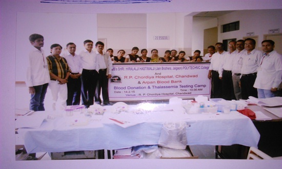 Blood Donation &Thalassemia Testing Camp